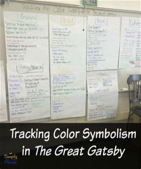 color symbolism great gatsby quotes 49 best images about the great gatsby on pinterest