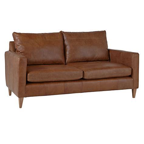 john lewis leather sofa buy john lewis bailey large 3 seater leather sofa lustre
