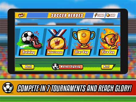 website download game android mod soccer heroes v1 1 0 android apk mod download