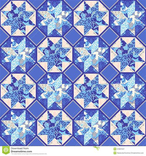 quilt pattern vector vector quilt abstract seamless pattern stock vector