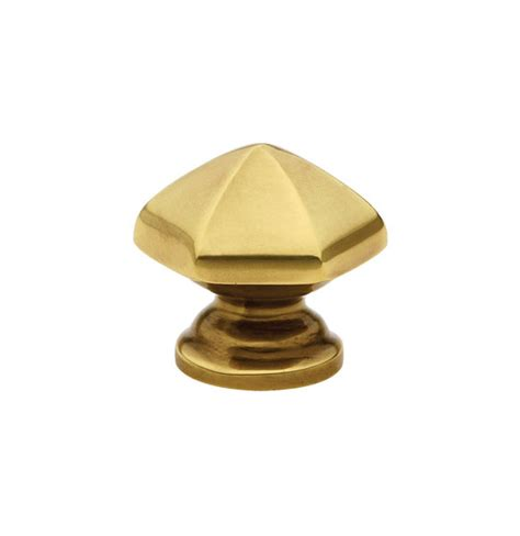 Brass Cabinet Knobs Brass Hex Cabinet Knob American Designer Entry Sets