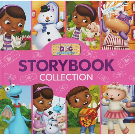 baju doc mcstuffins disney doc mcstuffins storybook collection 6