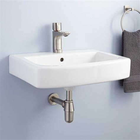 wall mount bath sink best 25 wall mounted bathroom sinks ideas on
