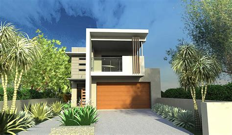 home design for narrow land house plans and design modern house plans small lot