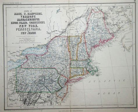 road map of northeast united states an overview of pennsylvania mapping circa 1850 to 1900