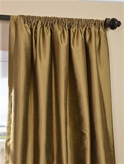 silk gold curtains shop taupe gold thai silk curtains and drapes