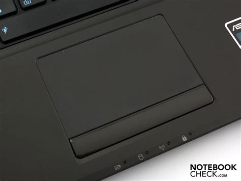 Touchpad Laptop Asus review asus n61jv jx007v notebook notebookcheck net reviews