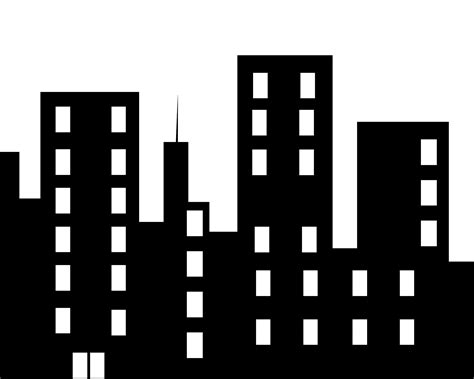 building clipart building clip images black and white