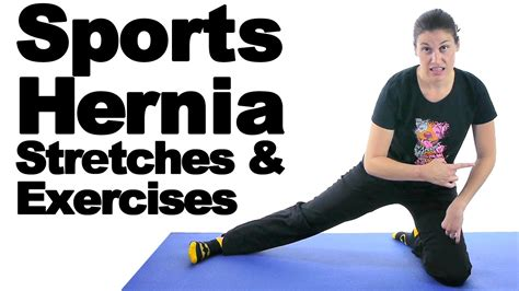sports hernia exercises stretches  doctor jo youtube