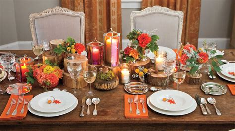 fall decorating ideas southern living candlelight dinner fall decorating ideas southern living