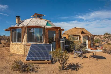 Modern Adobe Houses dragonfly desert retreat offers complete off grid living