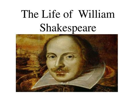 William Shakespeare Powerpoint Templates Ppt The Life Of William