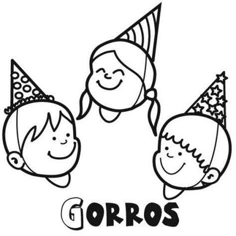 imagenes gorros infantiles dibujos para colorear e imprimir gorros imagui