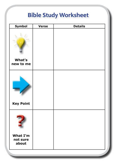 Inductive Bible Study Worksheet by Inductive Bible Study Worksheet Abitlikethis