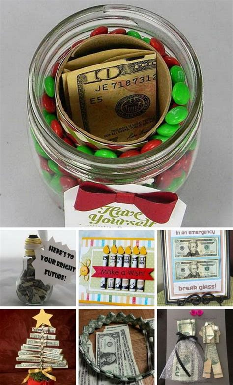 fun and creative ways to give money as a gift creative