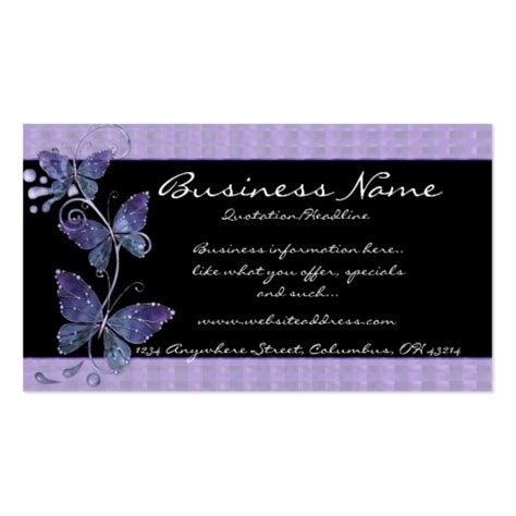 butterfly business card template 10 000 butterfly business cards and butterfly business