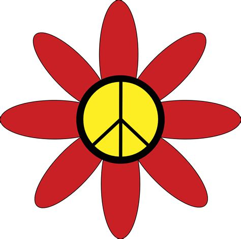 hippie clipart hippies clipart flower power pencil and in color hippies