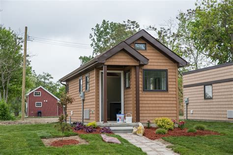tiny houses give low income detroit residents a shot at rent to own tiny homes in detroit give hope and equity to