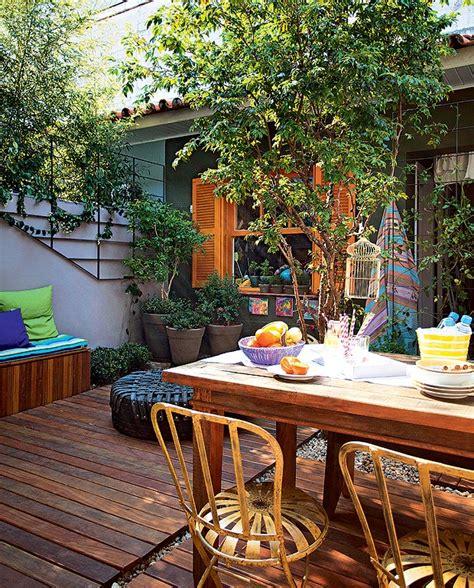 decorar paredes do quintal quintal ganha vida nova projeto de paisagismo casa e