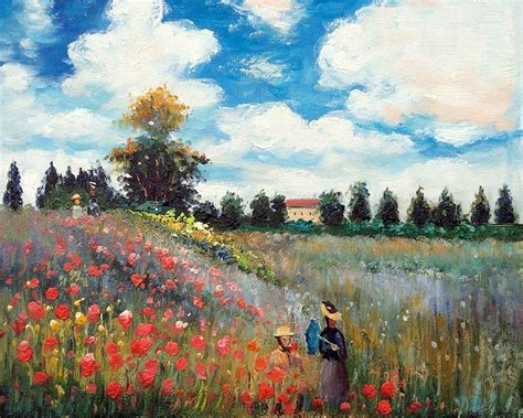 famous wall paintings famous canvas wall oil painting reproduction poppy field