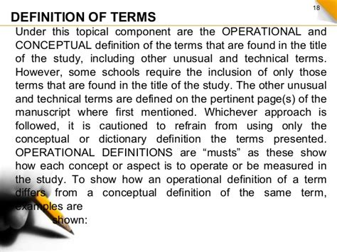 definition of terms in research paper exle exle of definition of terms in thesis druggreport820