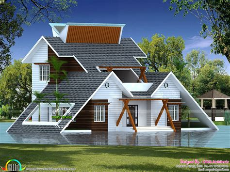 creative home architectural design kerala home design