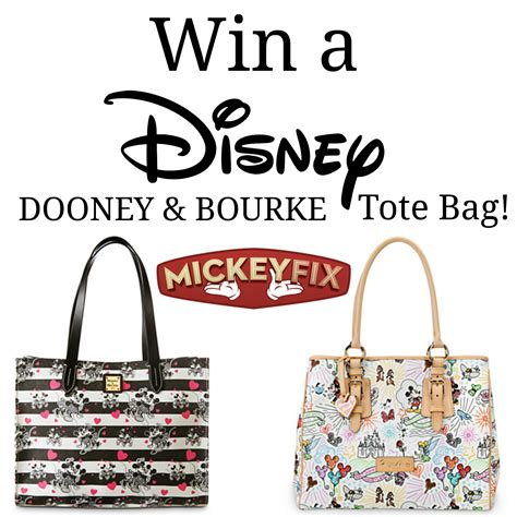 Win This Bag by Win A Disney Dooney Bourke Tote Bag Mickey Fix