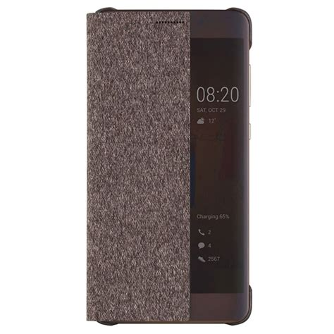 Huawei Mate 9 Smart View Flip huawei mate 9 pro smart view flip cover 51991819 brun