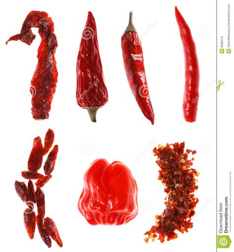 different reds different types of red chillies stock photo image 6289474