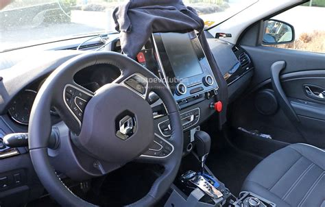 renault talisman 2016 interior 2016 renault laguna estate spied in france photo gallery