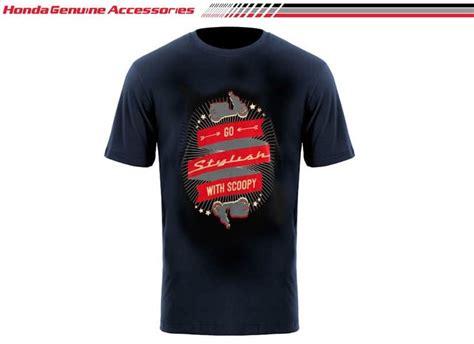 Tshirt Kaos Honda Cbr scoopy go t shirt black merchendise resmi kaos honda