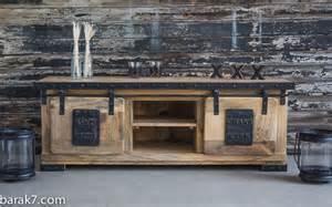 meuble tv industriel quot live with character quot barak 7