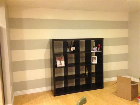 Striped Accent Wall Living Room Living Room Striped Accent Wall Home Decor Living Room