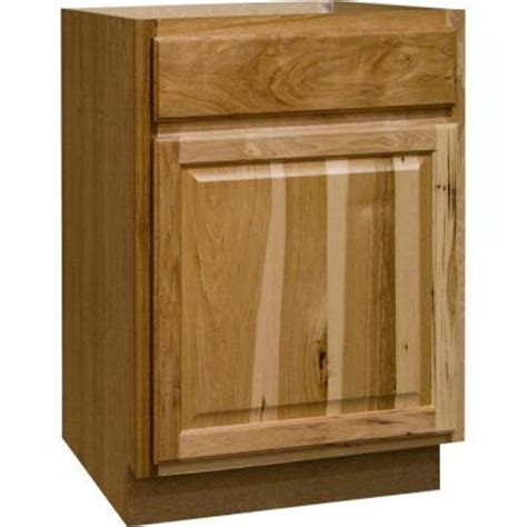home depot hickory cabinets hton bay 24x34 5x24 in hton base cabinet with