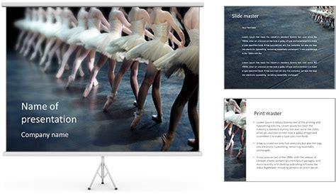 ballet dance presentation template for powerpoint and ballet performance powerpoint template backgrounds id