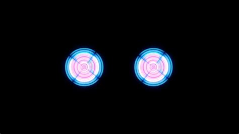 flashing silver lights in eyes futuristic abstract technology background with bright blue