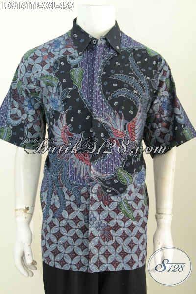 Hem Batik Katun Furing Pj Kemeja Batik Terbaru Batik Kantor M 2 batik hem mewah lengan pendek furing kemeja batik