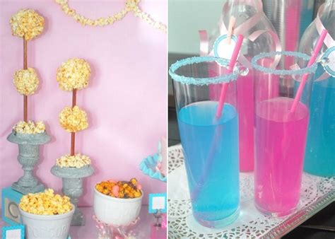 pink blue baby shower pink and blue baby shower guest feature celebrations