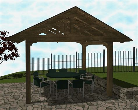 patio shelter rendering