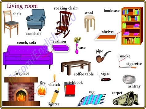 is livingroom one word living room vocabulary in vocabulary home