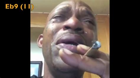 Crying Black Man Meme - crying black man meme man starts crying because his weed
