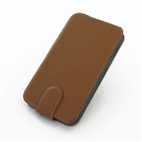 Flip Cover 2 Samsung Galaxy Note 2 Flip Cover Brown Pdair Sleeve Pouch Holster