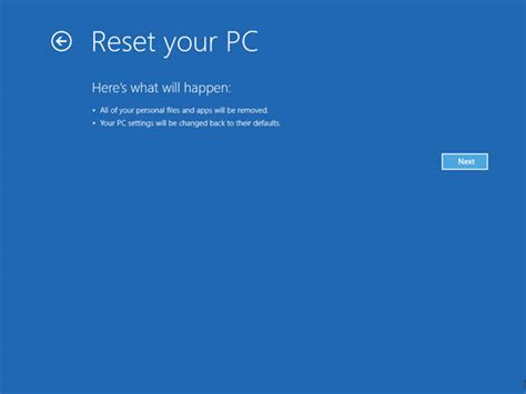 windows resetting your pc how to refresh reset your windows 8 pc geeky portal