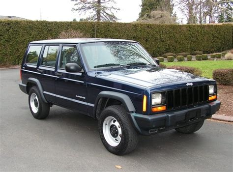 2000 Jeep Patriot Used 2000 Jeep 4x4 Patriot Blue One Owner 104k