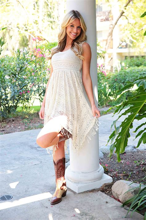 Country Dress country dresses with boots www pixshark