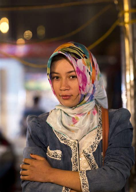 young uyghur woman xinjiang china  uighurs