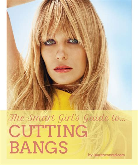 Your Guide To Bangs by Primp Tip The Smart S Guide To Bangs Conrad