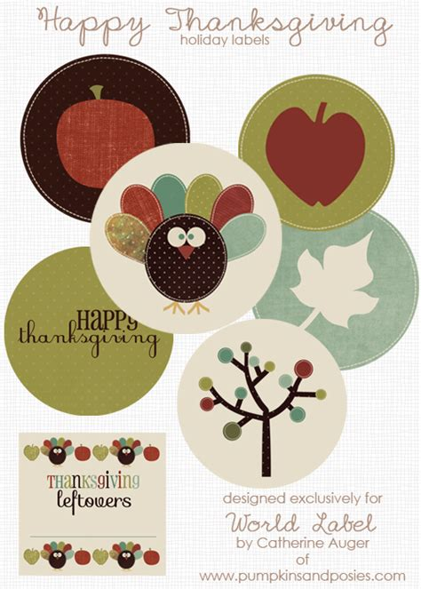 printable thanksgiving stickers thanksgiving label printables images