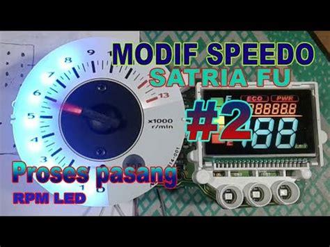 Led Projie Satria Fu pasang rpm led satria fu