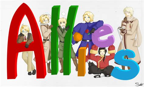 The Allies hetalia the allies images allies hd wallpaper and